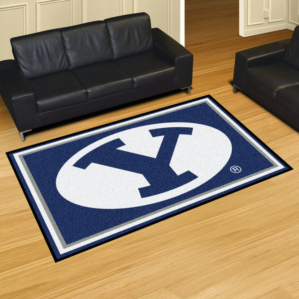 BYU Cougars 5x8 Area Rug