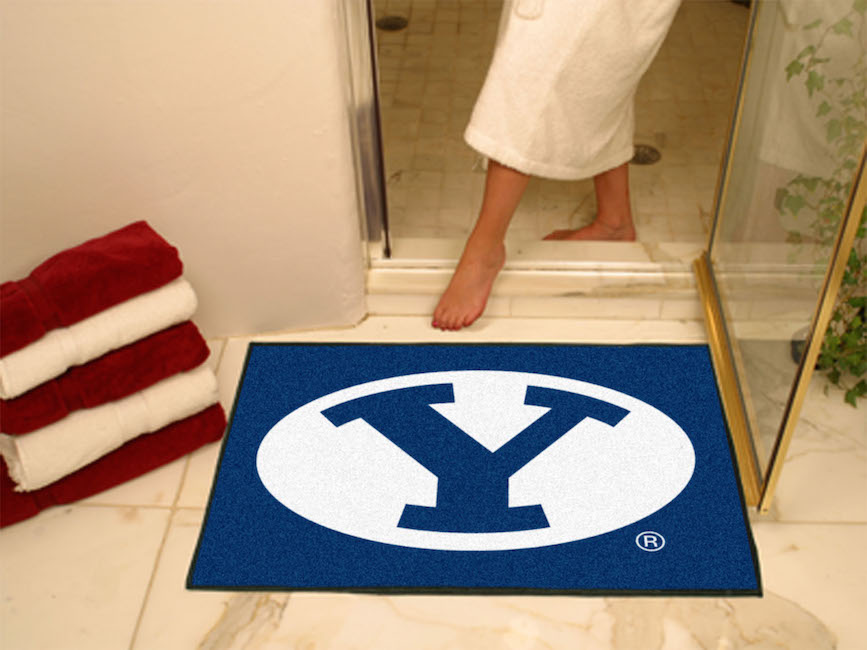 BYU Cougars ALL STAR 34 x 45 Floor Mat