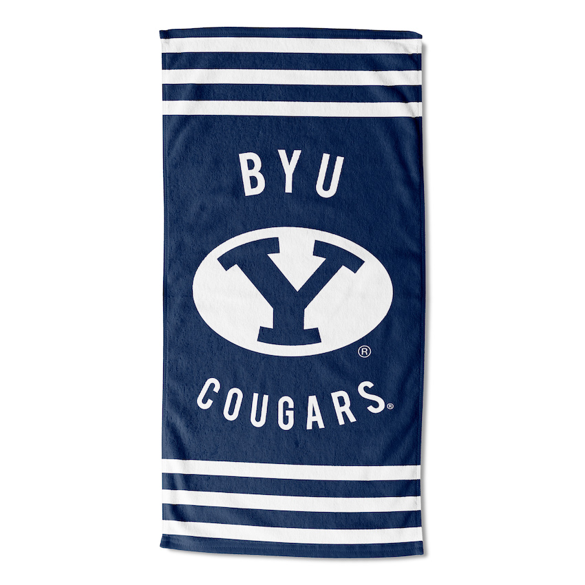 BYU Cougars Beach Towel