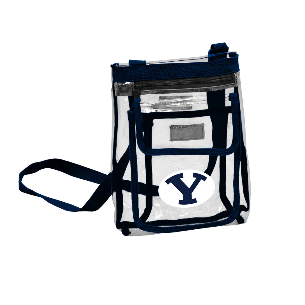 BYU Cougars GAMEDAY Clear Cross Body Pack