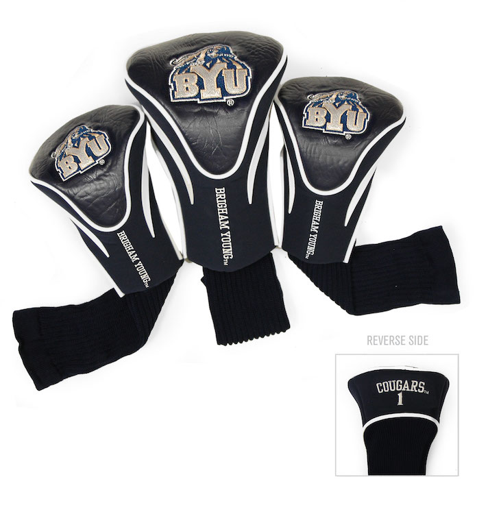 BYU Cougars 3 Pack Contour Headcovers