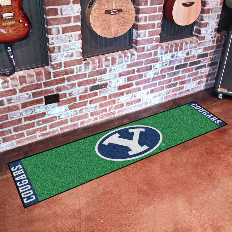 BYU Cougars Putting Green Mat 18 x 72