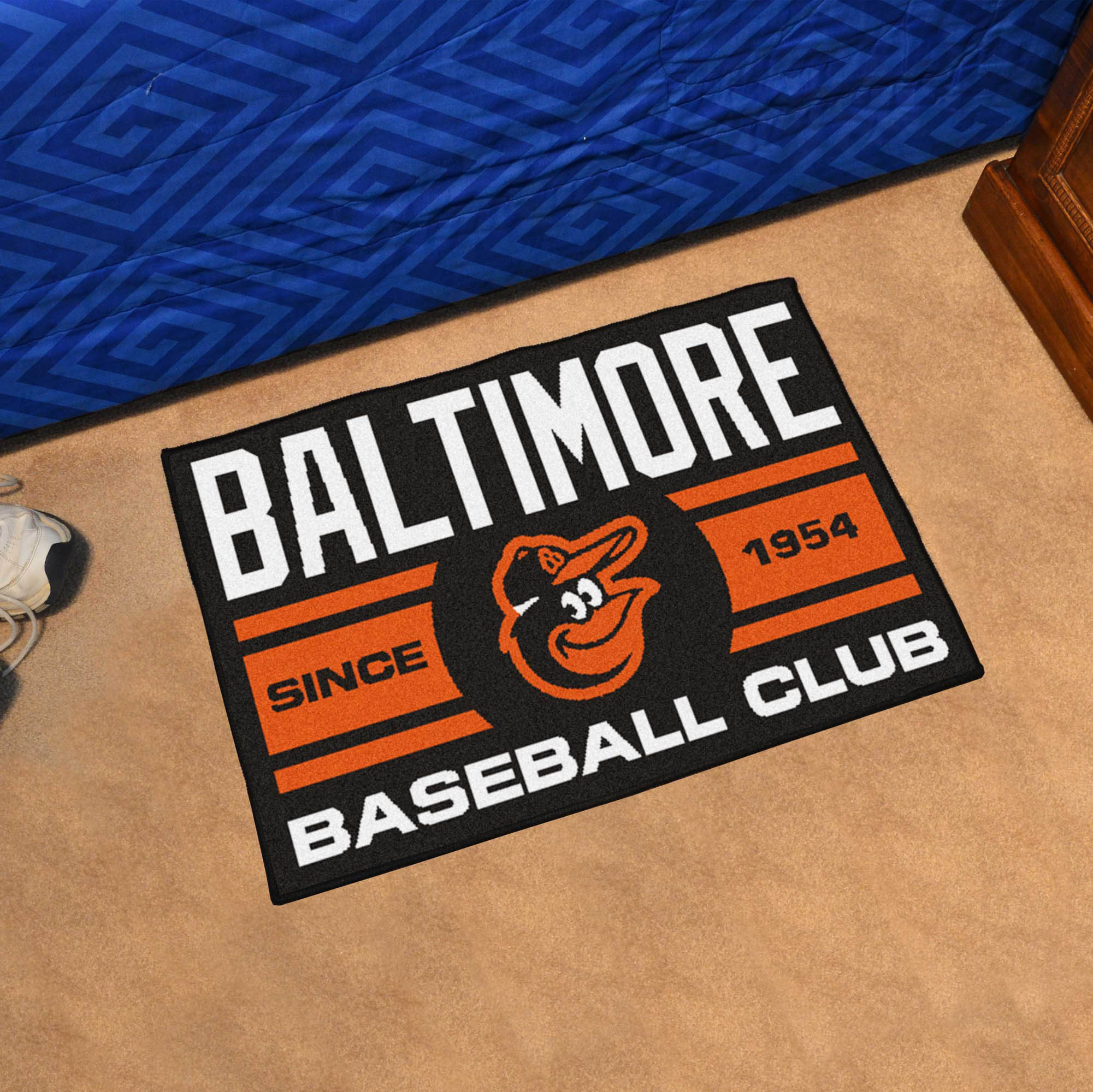 Baltimore Orioles 20 x 30 Uniform STARTER Floor Mat
