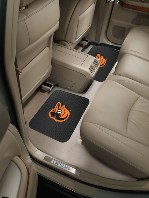 Baltimore Orioles Small Utility Mat (Set of 2)