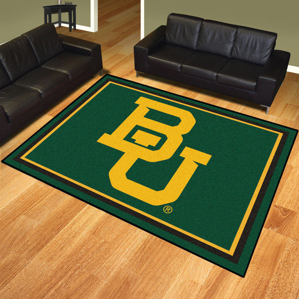 Baylor Bears Ultra Plush 8x10 Area Rug