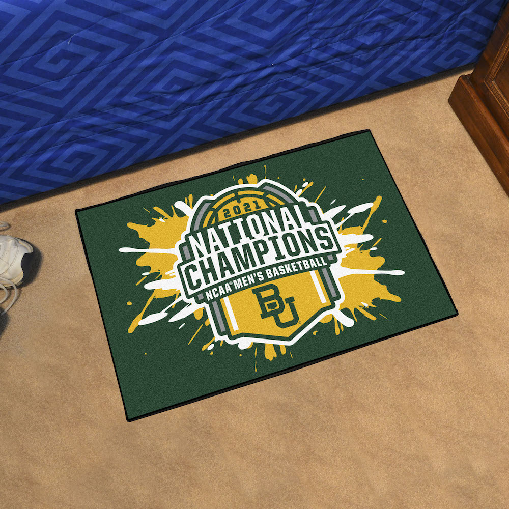 Baylor Bears 2021 NCAA Basketball Champs 20 x 30 STARTER Mat