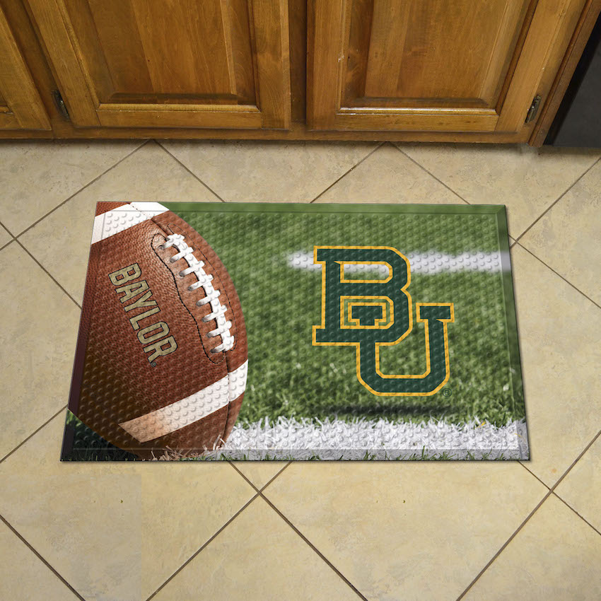 Baylor Bears Ball Style SCRAPER Door Mat