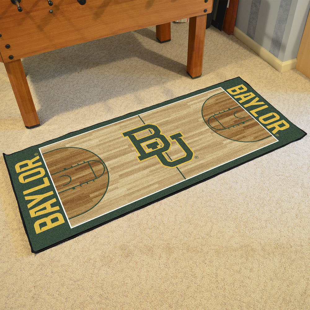 Baylor Bears 30 x 72 Basketball Court Carpet Runner