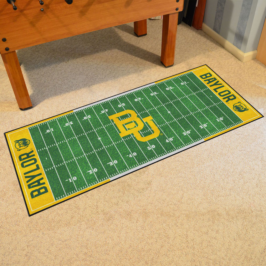 Baylor Bears 30 x 72 Football Field Carpet Runner