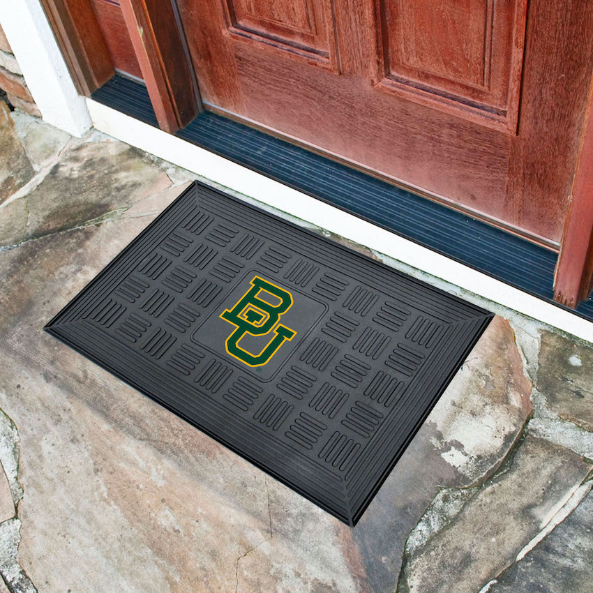 Baylor Bears MEDALLION Vinyl Door Mat
