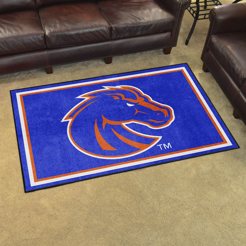 Boise State Broncos 4x6 Area Rug