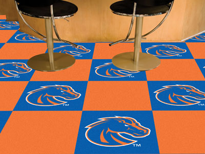 Boise State Broncos ALT. Carpet Tiles 18x18 in.