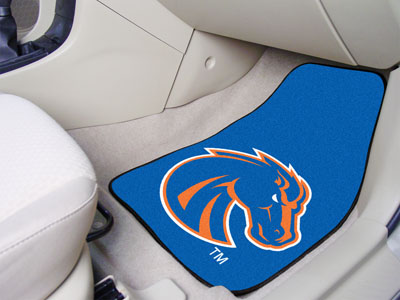 Boise State Broncos Car Floor Mats 18 x 27 Carpeted-Pair