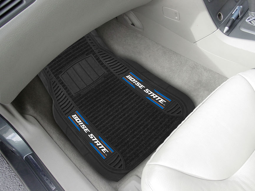 Boise State Broncos Deluxe 20 x 27 Car Floor Mats
