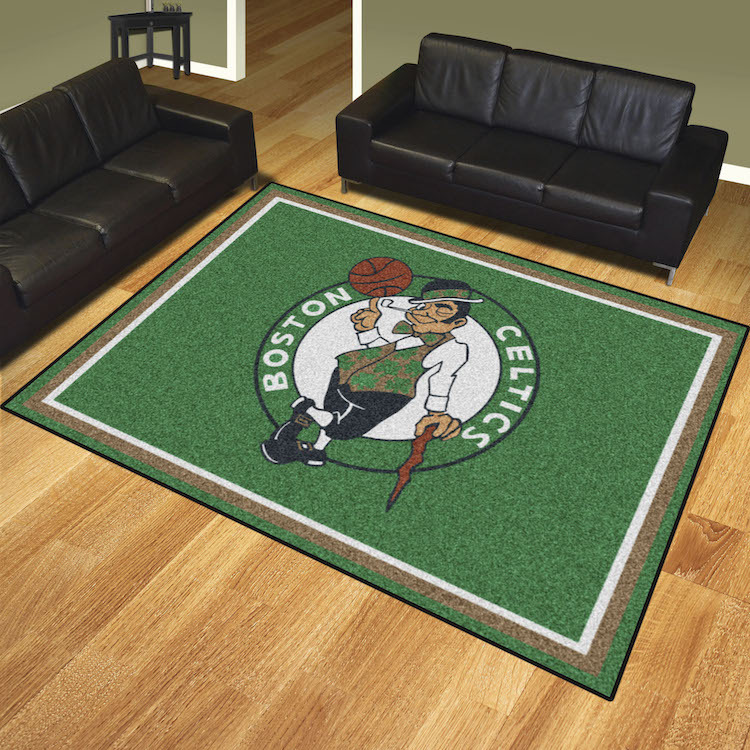 Boston Celtics Ultra Plush 8x10 Area Rug
