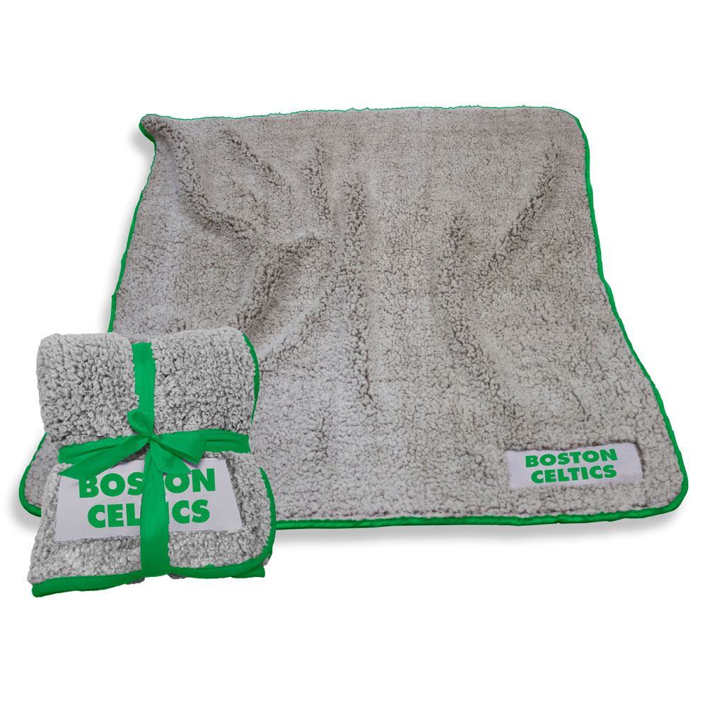 Boston Celtics Frosty Throw Blanket
