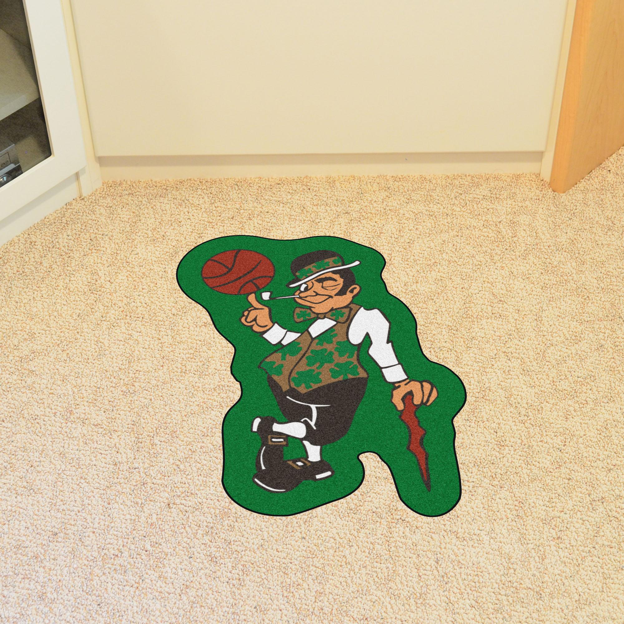 Boston Celtics Nba Mascot Mat Buy At Khc Sports