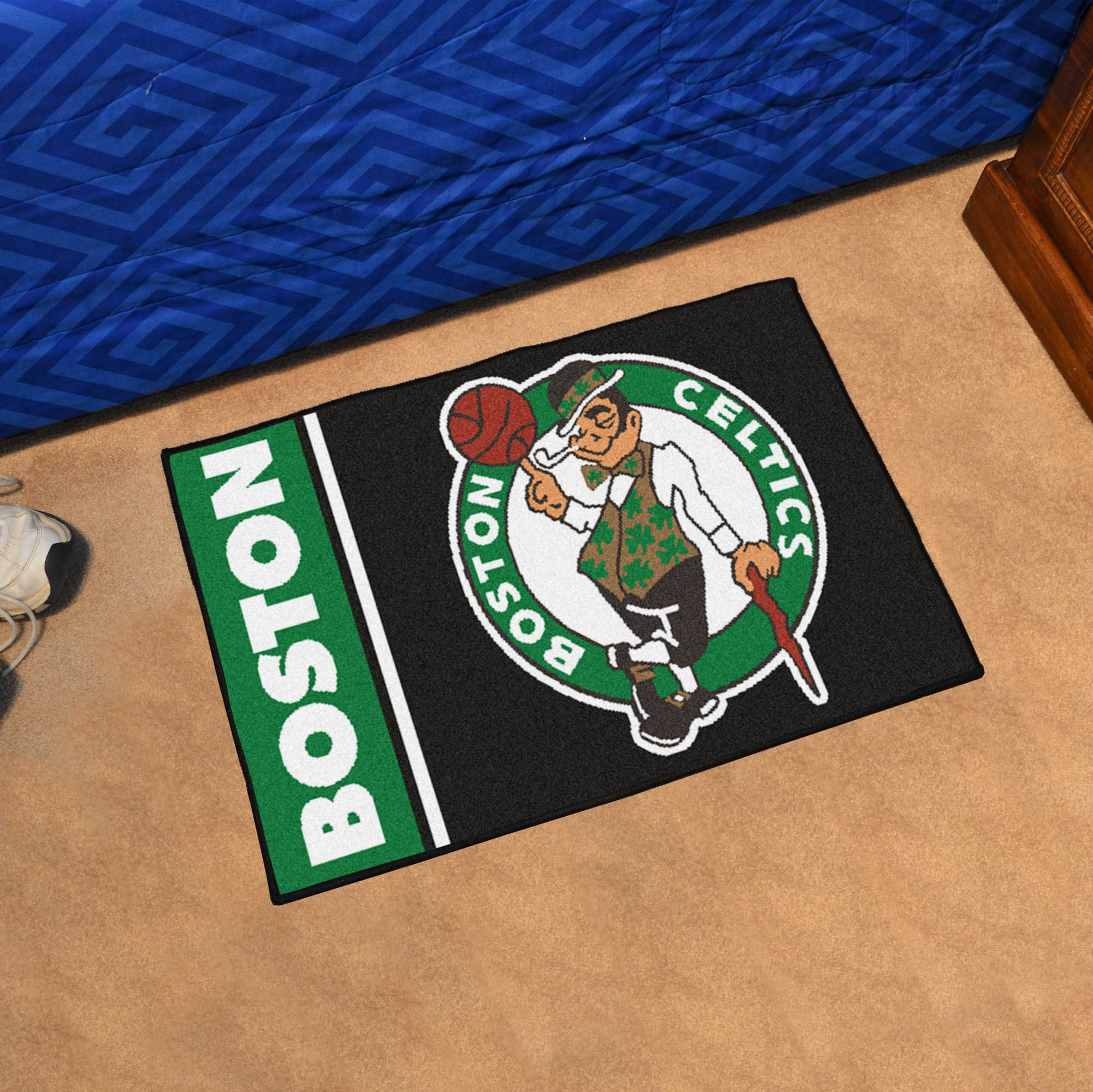 Boston Celtics 20 x 30 Uniform Inspired Starter Rug