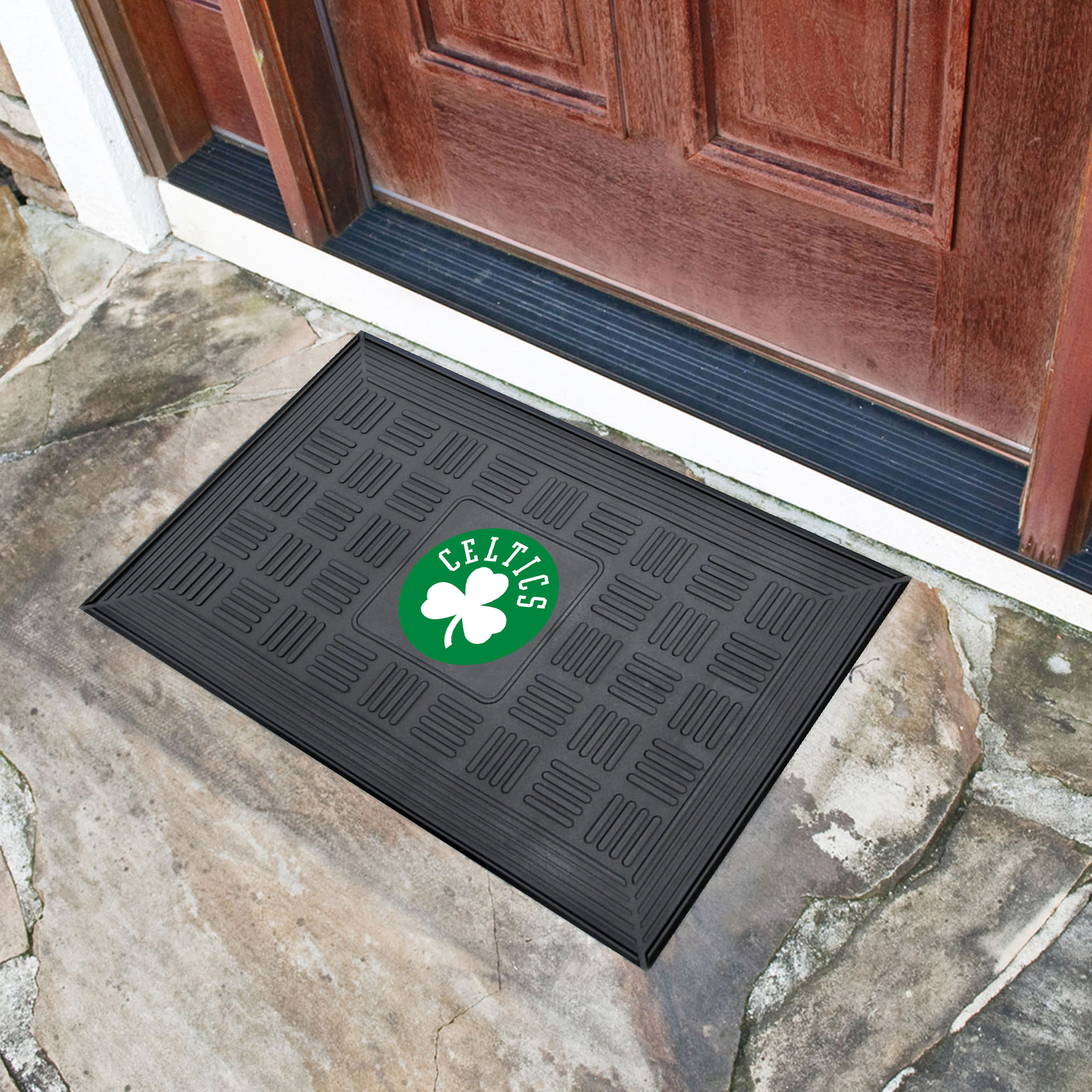 Boston Celtics MEDALLION Vinyl Door Mat