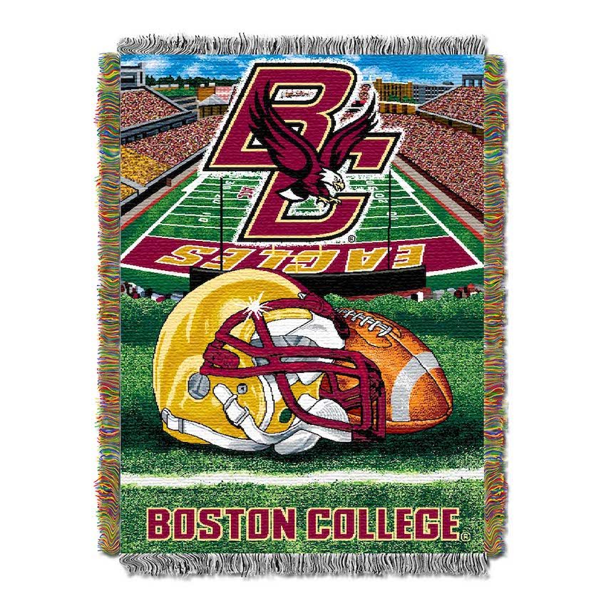 Boston College Eagles Home Field Advantage Series Tapestry Blanket 48 x 60