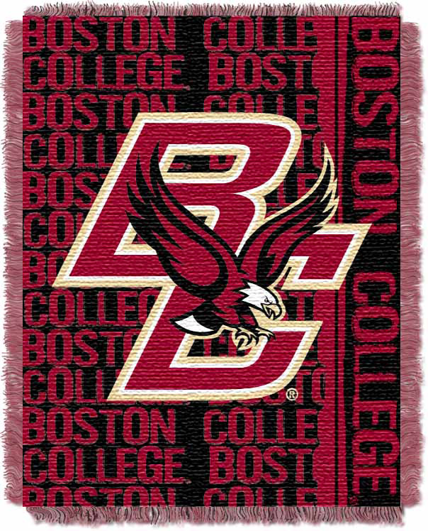 Boston College Eagles Double Play Tapestry Blanket 48 x 60