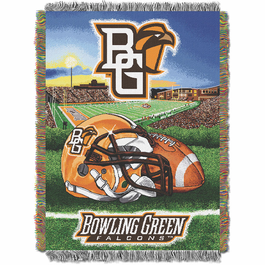 Bowling Green Falcons Home Field Advantage Series Tapestry Blanket 48 x 60