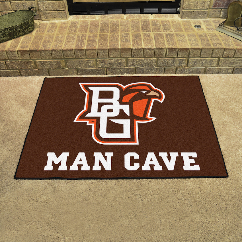 Bowling Green Falcons ALL STAR 34 x 45 MAN CAVE Floor Mat