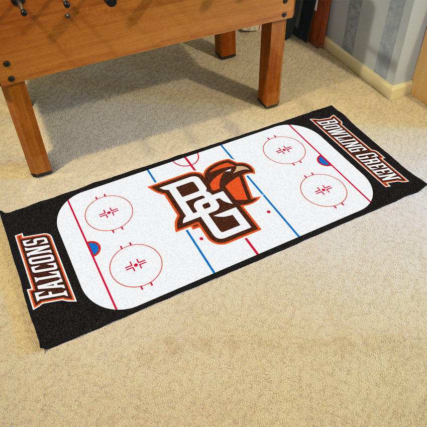 Bowling Green Falcons 30 x 72 Hockey Rink Carpet Runner