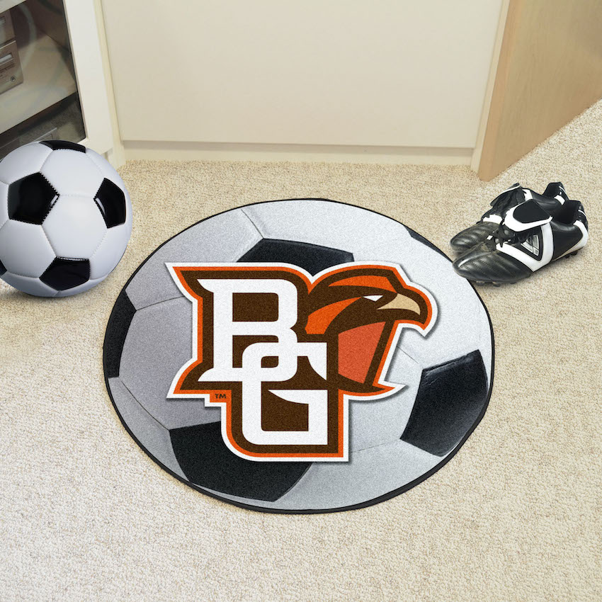 Bowling Green Falcons SOCCER BALL Mat