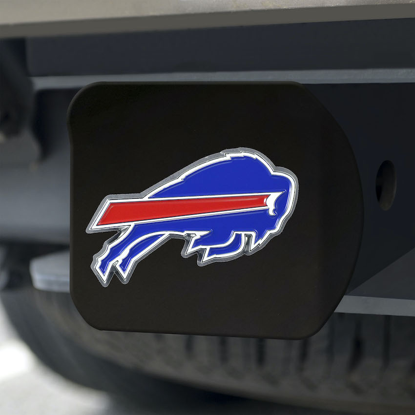 Buffalo Bills Black and Color Trailer Hitch Cover