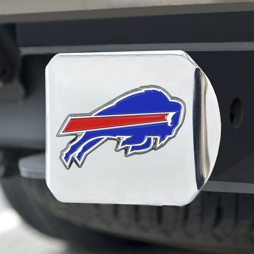 Buffalo Bills Color Chrome Trailer Hitch Cover