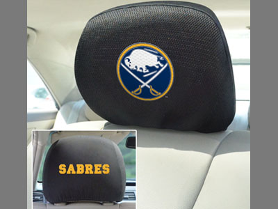 Buffalo Sabres Head Rest Covers