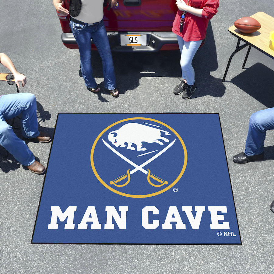 Buffalo Sabres MAN CAVE TAILGATER 60 x 72 Rug