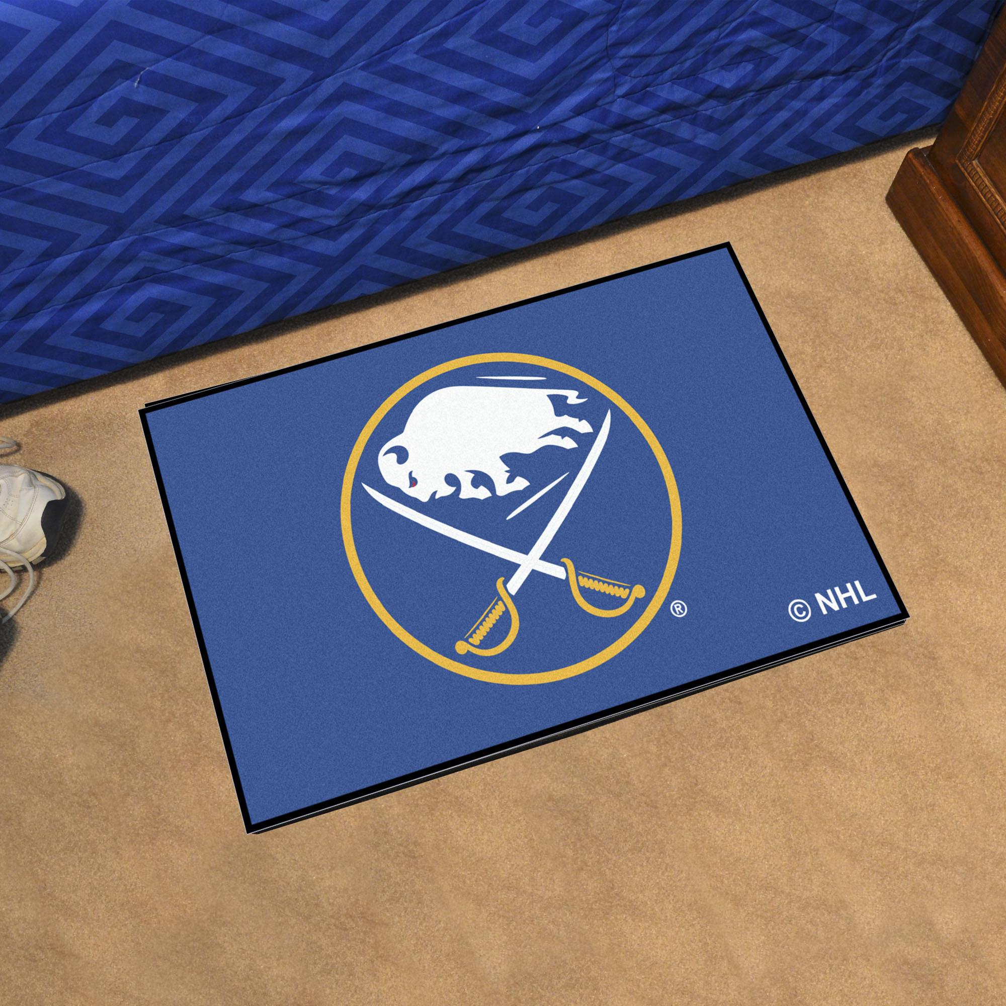 Buffalo Sabres Starter 20x30 Floor Mat Buy At Khc Sports