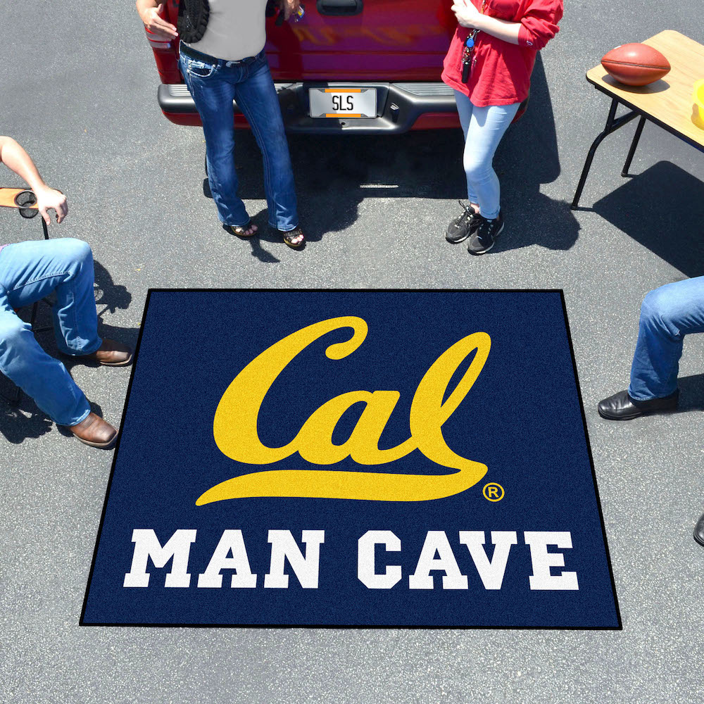 California Golden Bears MAN CAVE TAILGATER 60 x 72 Rug
