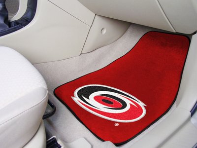 Carolina Hurricanes Car Floor Mats 18 x 27 Carpeted-Pair