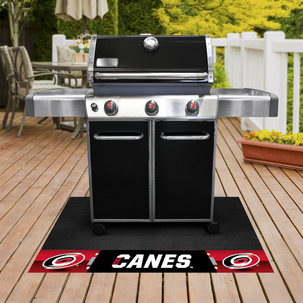 Carolina Hurricanes NHL Grill Mat