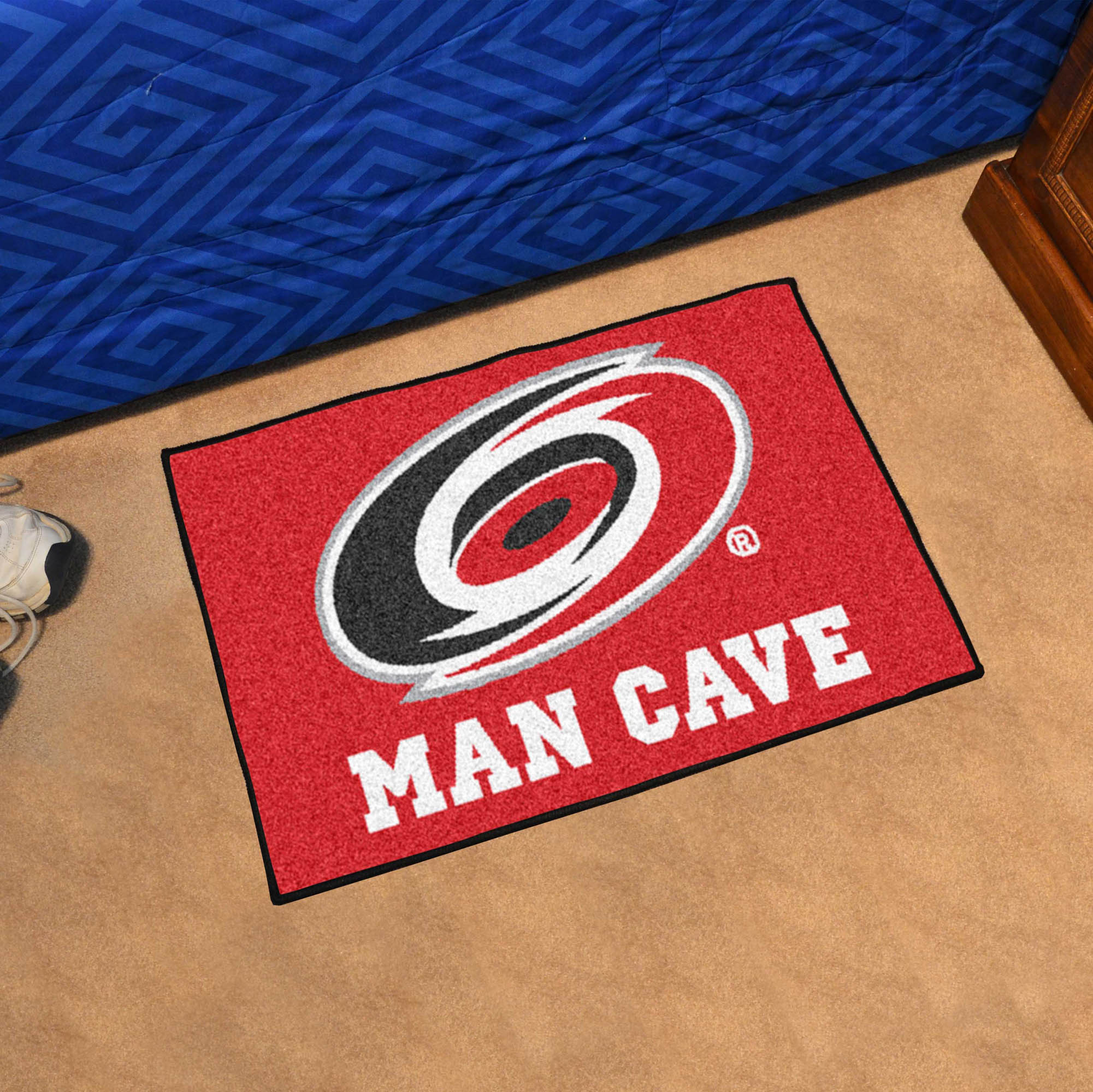 Carolina Hurricanes MAN CAVE 20 x 30 STARTER Floor Mat