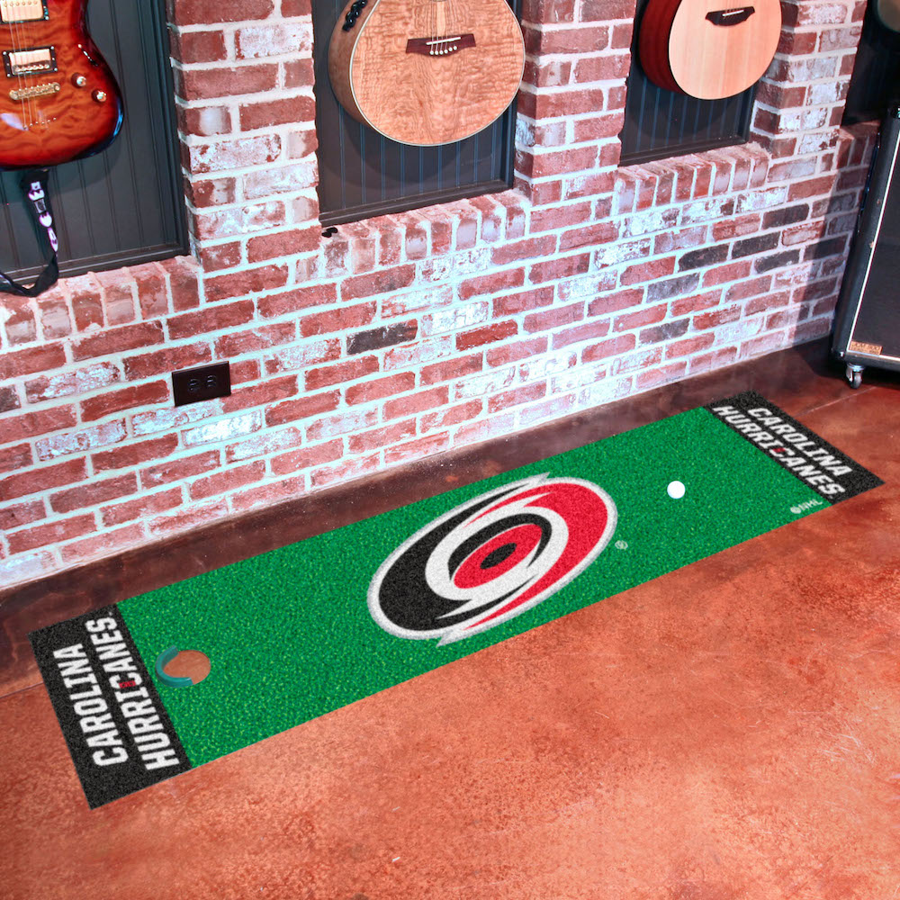 Carolina Hurricanes Putting Green Mat 18 x 72