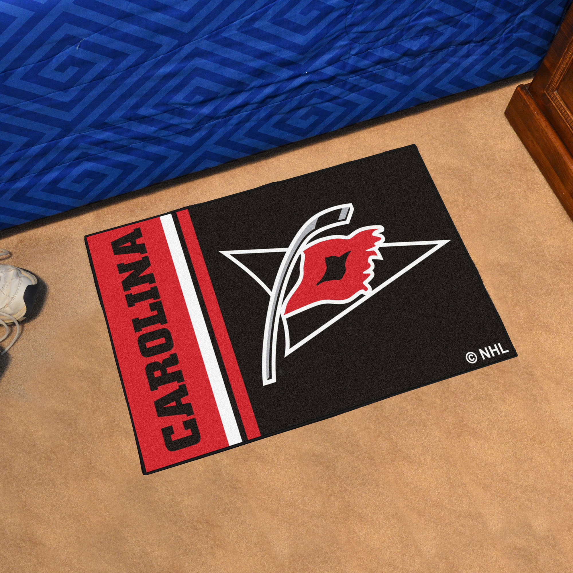 Carolina Hurricanes 20 x 30 Uniform Inspired Starter Rug