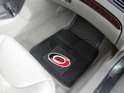 Carolina Hurricanes Car Floor Mats 18 x 27 Heavy Duty Vinyl Pair
