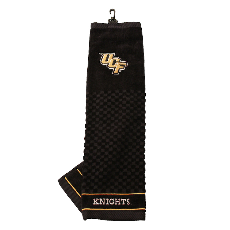 Central Florida Knights Embroidered Golf Towel