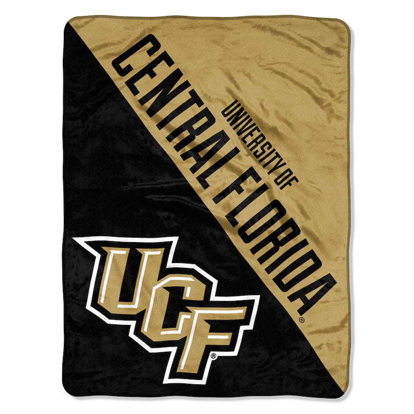 Central Florida Knights Micro Raschel 50 x 60 Team Blanket