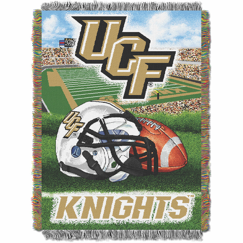 Central Florida Knights Home Field Advantage Series Tapestry Blanket 48 x 60