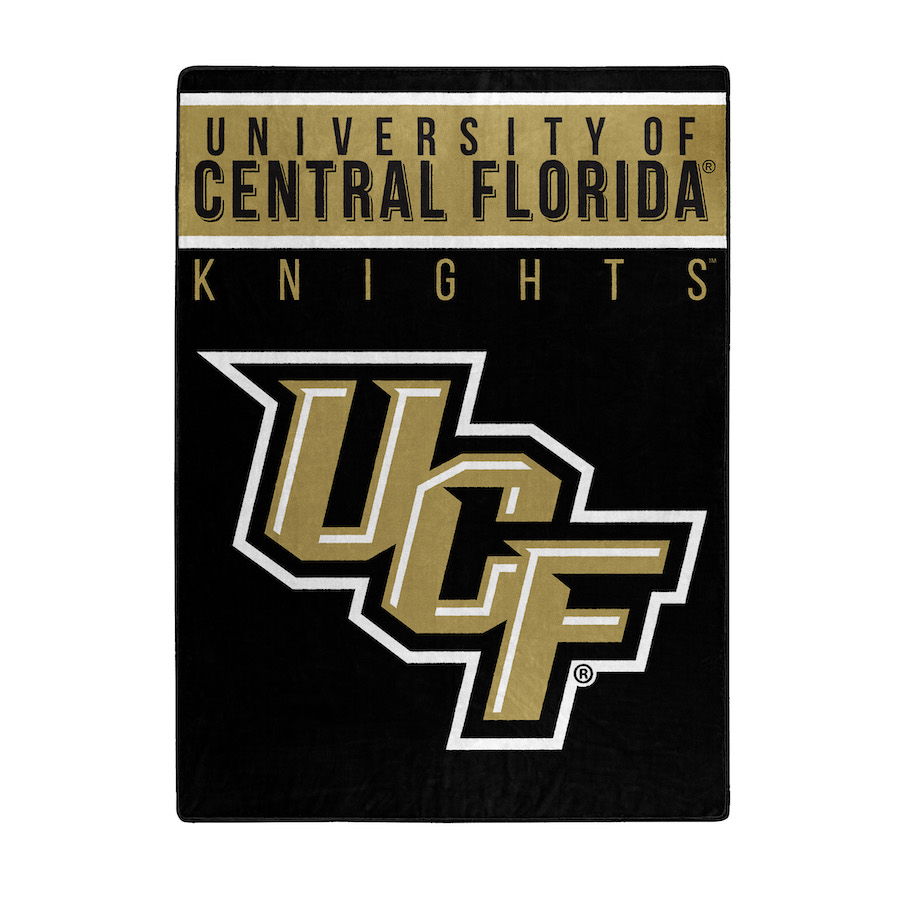 Central Florida Knights Large Plush Fleece OVERTIME 60 x 80 Blanket