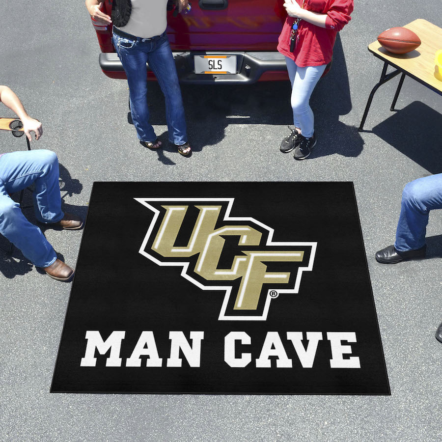Central Florida Knights MAN CAVE TAILGATER 60 x 72 Rug