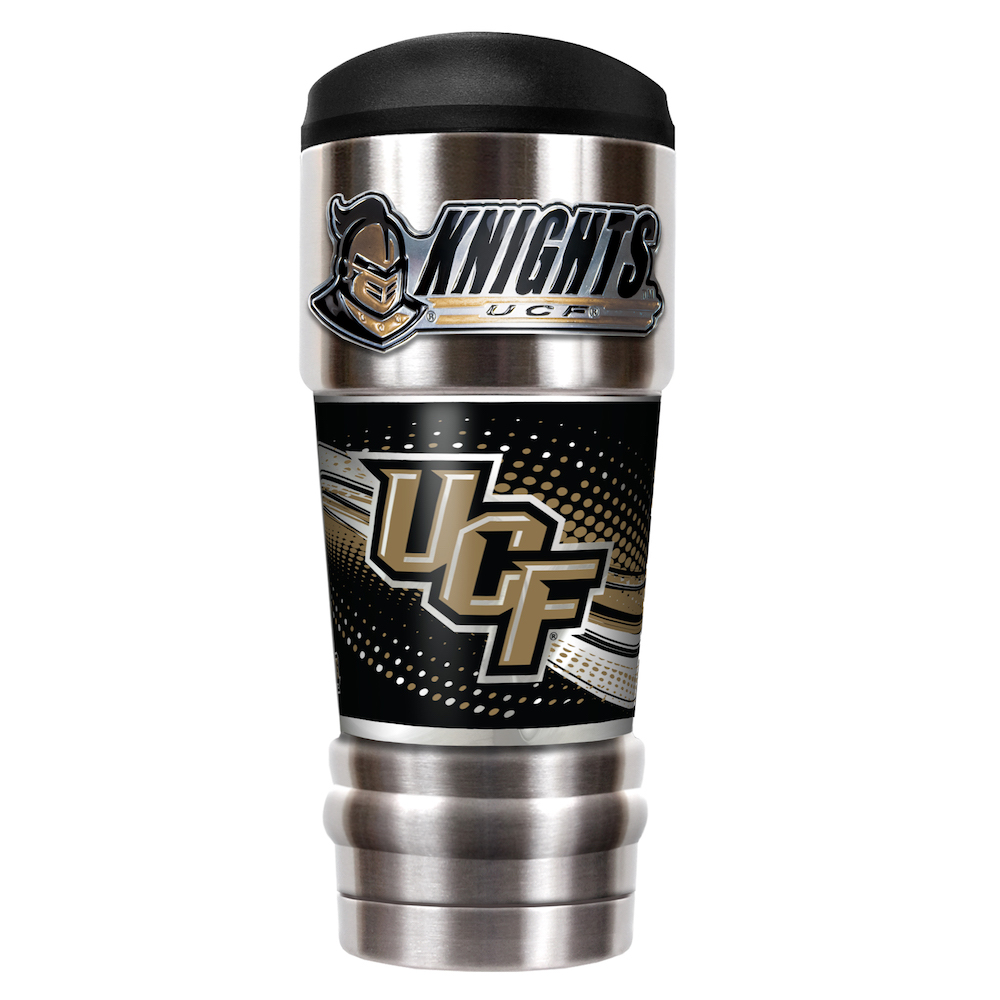 Central Florida Knights 18 oz MVP SERIES NCAA Vacuum Insulated Travel Tumbler