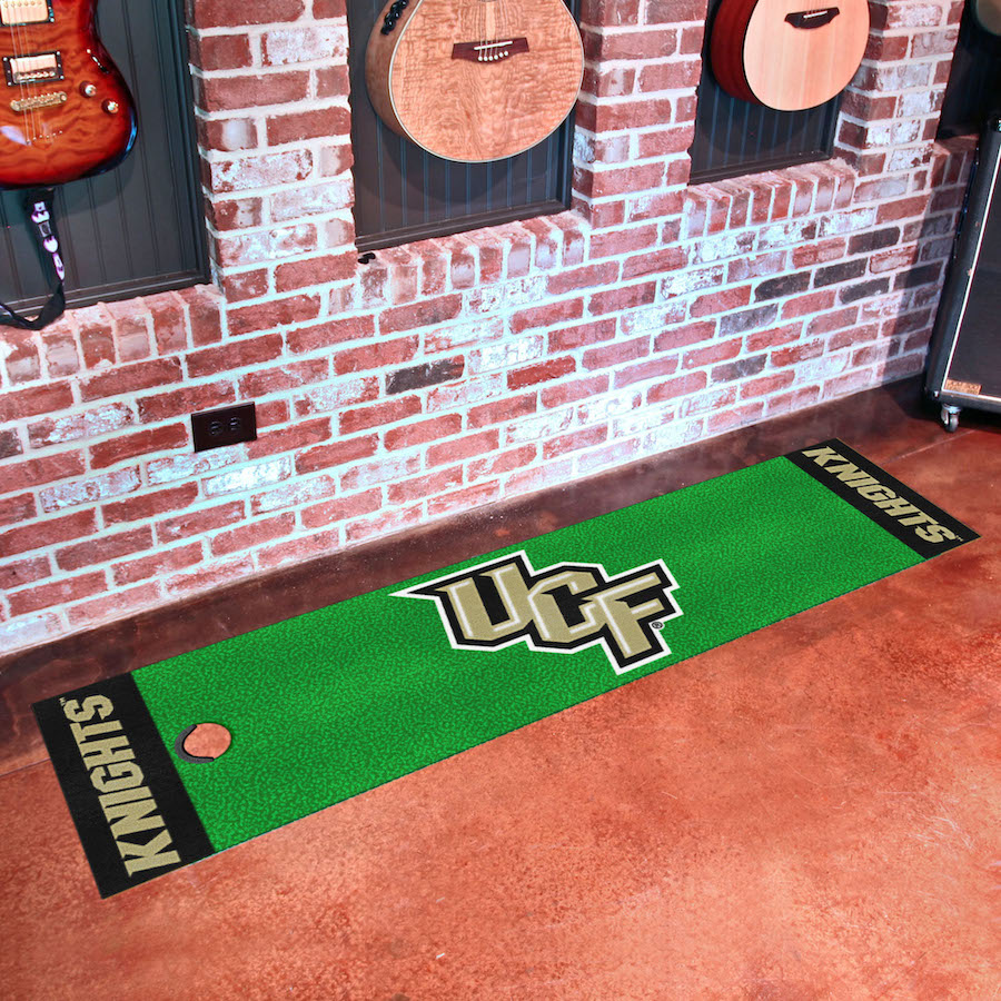 Central Florida Knights Putting Green Mat 18 x 72