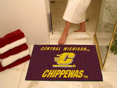 Central Michigan Chippewas ALL STAR 34 x 45 Floor Mat