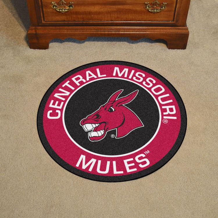 Central Missouri Mules Roundel Mat